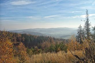 Photo: Pohled z vrcholu Oldřichov (652 m.) směr Hošťálkovy (Krnov vzadu vlevo)