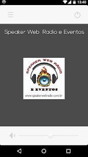 Download Speaker Web Radio e Eventos For PC Windows and Mac apk screenshot 1