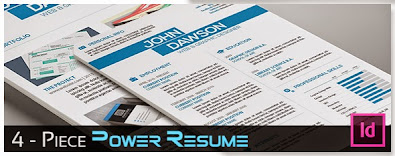 3-Piece Creative Resume Set