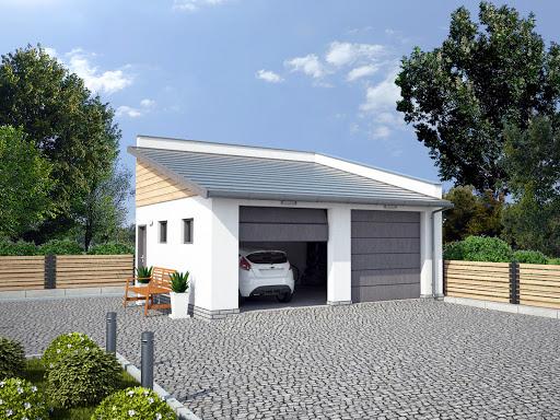 G330j - garaż w granicy
