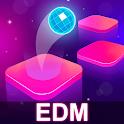 Ball Hop: Edm Dancing Tiles Rush! icon