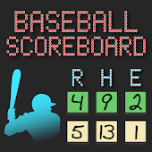 Lazy Guy's Baseball Scoreboard