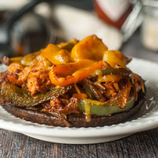 Fajita Stuffed Portobellos (Low Carb & Paleo) Recipe