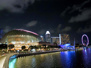 Photo: Marina Bay and Theatres on the Bay