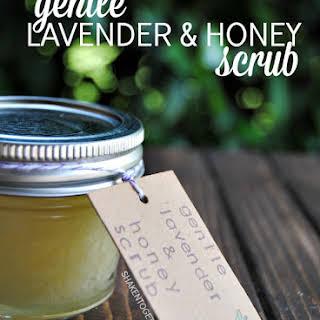 Gentle Lavender Honey Scrub.