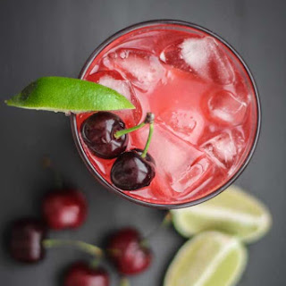 Fresh Cherry & Lime Margarita