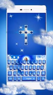 Křesťanská klávesnice Boha - náhled
