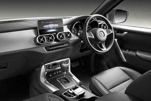 The interior has a Mercedes look combined with lots of Nissan equipment. Picture: MERCEDES-BENZ COMMERCIAL VEHICLES