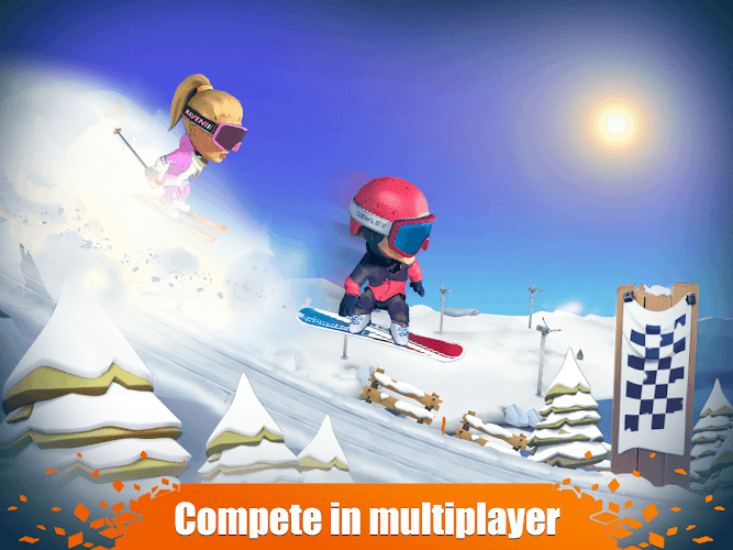 Snow Trial 1.0.60 MOD (Unlimited Coins) 3