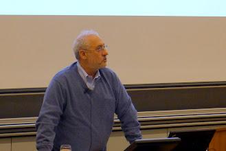 Photo: prof. Joseph Stiglitz, Nobel laureate