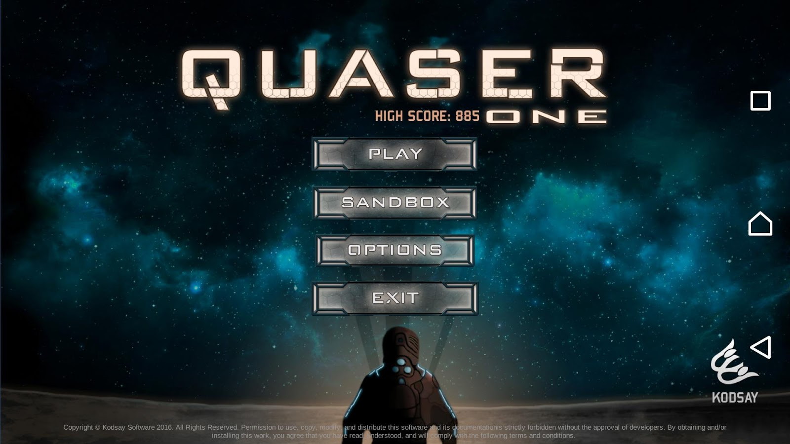 Quaser One- screenshot