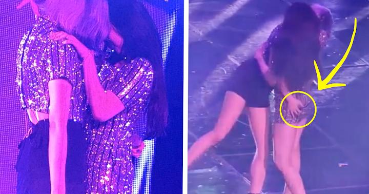 girls butt kissing