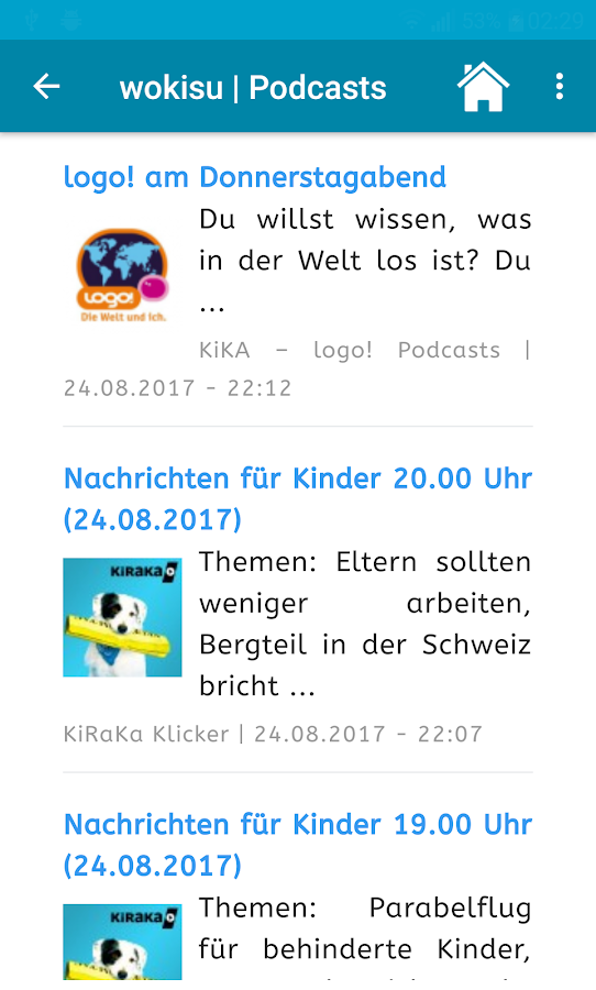 wokisu Browser für Kinder- screenshot