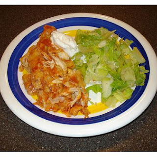 Chicken Enchiladas With Cream Sauce