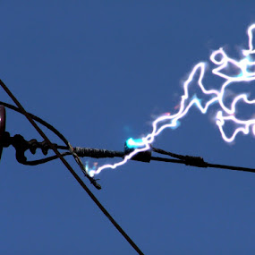 Electric art by Rajesh Kumar - Artistic Objects Other Objects
