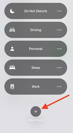 How to set up and use the Focus feature in iOS 15