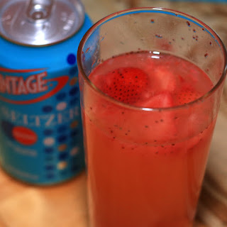 Easy Strawberry Lemonade With Seltzer