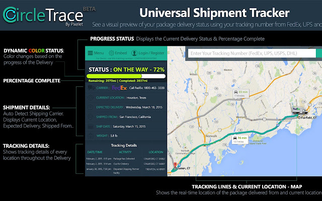 CircleTrace - Universal Package Tracker