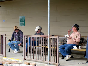 Photo: Doug Payne, Ed Rains, and Gary Brothers.   2009-1127 HALS Anniversary Meet