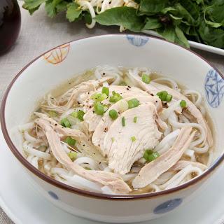 Pressure Cooker Pho Ga/Vietnamese Chicken Noodle Soup.
