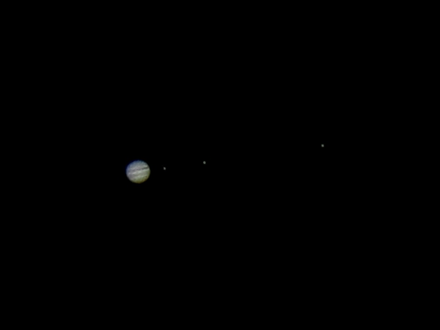 Jupiter by Michele Whitlow - Landscapes Starscapes ( planets, ganymede, moons, jupiter, astrophotography, europa, io,  )