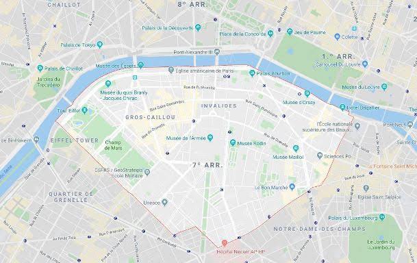7º arrondissement du Palais Bourbon