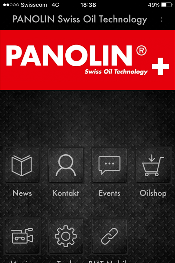 PANOLIN Swiss Oil Technology- capture d'écran