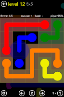 Screenshot of Flow Free