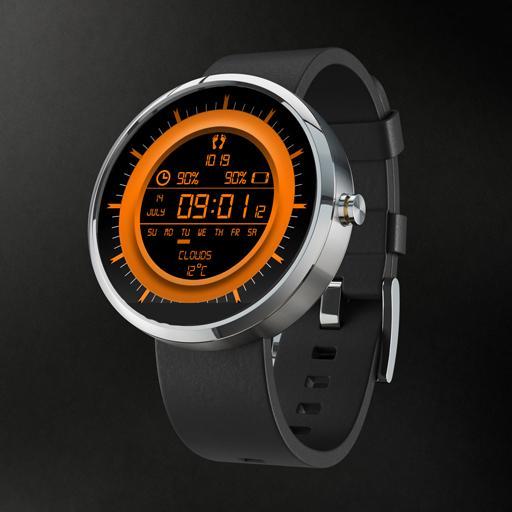 moto360 floating watchface LG