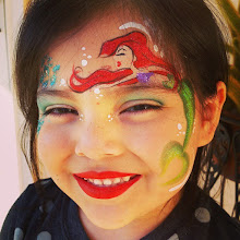 Photo: Little Mermaid face painting by Raelynn, Azusa, Ca. Call to book her today! 888-750-7024