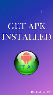 Get Apk Installed - náhled