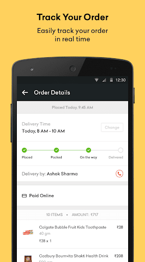 Grofers - Order Grocery Online for PC