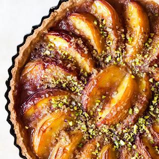 Vegan Peach Tart.