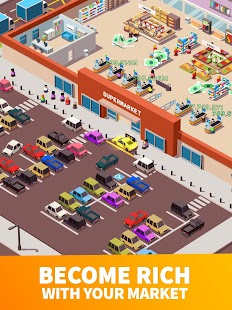 Idle Supermarket Tycoon - Tiny Shop Game Screenshot