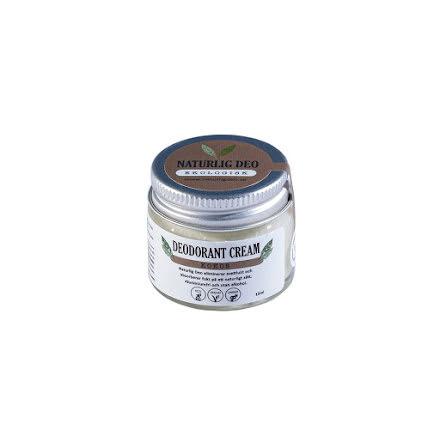 Naturlig deo, Ekologisk Deodorant Cream Kokos, 15 ml - REA KORT DATUM