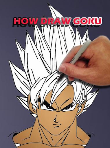 Télécharger Comment Dessiner Goku Dbz Pour Pc Gratuit