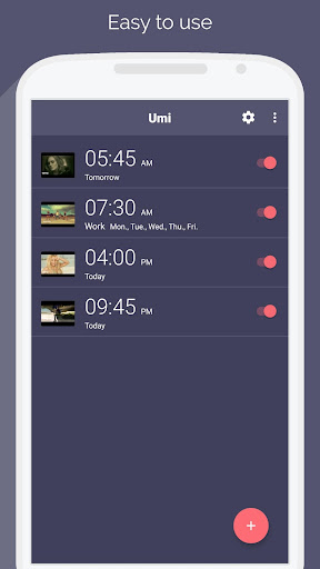 Umi - alarm clock for YouTube ☝ 1.0.5 screenshots 2
