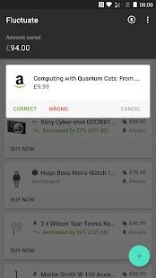 Fluctuate - Universal Price Tracker Screenshot