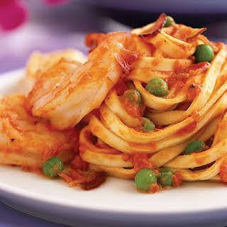 Quick Shrimp & Linguini.