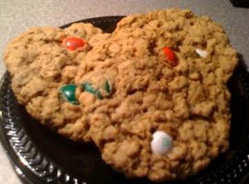 Monster M&M Cookies (gluten-free)