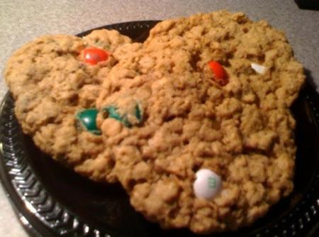 Monster M&M Cookies (gluten-free) Recipe