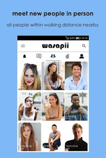 Wasapii - Meet all people nearby in person- screenshot thumbnail