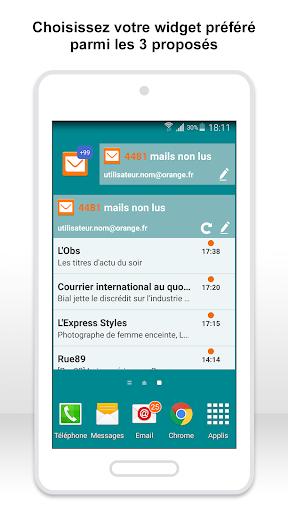 Mail Orange, 1er mail français screenshot 7