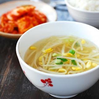 Kongnamul Guk (Soybean Sprout Soup) Recipe