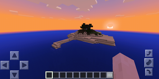 Uninhabited Island: Survival. Map for Minecraft for PC