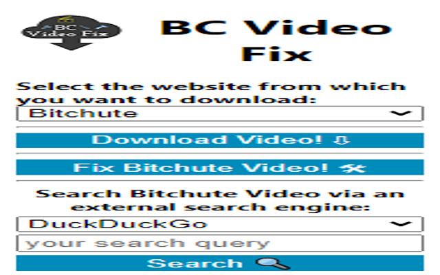 BC Video Fix