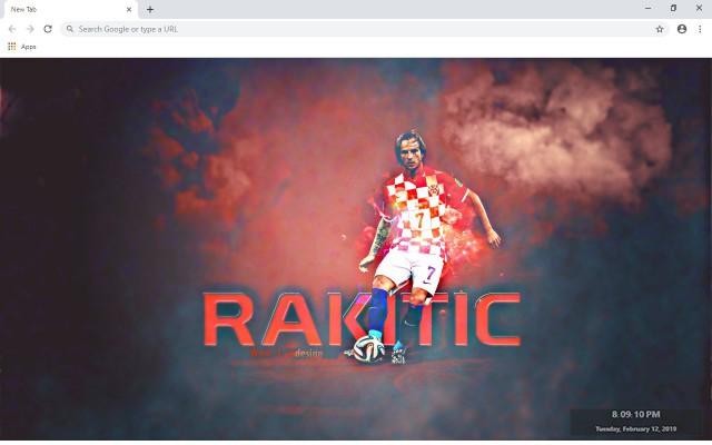 Ivan Rakitic New Tab & Wallpapers Collection