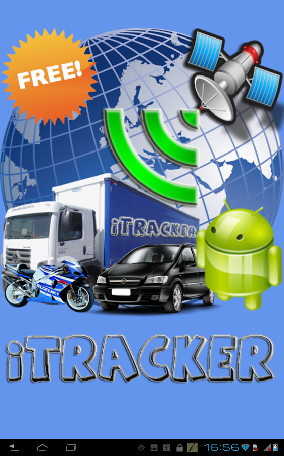 Cell Phone Tracking iTracker- screenshot