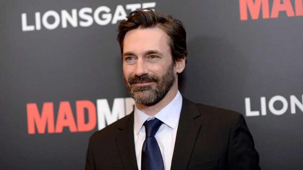 Jon Hamm at the Mad Men premiere.