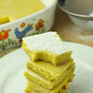 Low Calorie Lemon Bars Recipes
